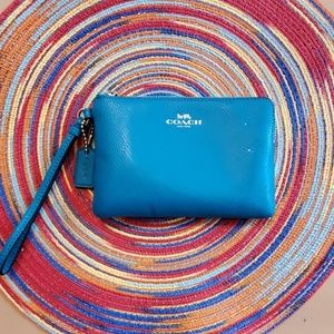 Auth Coach Wristlet and Card Holder